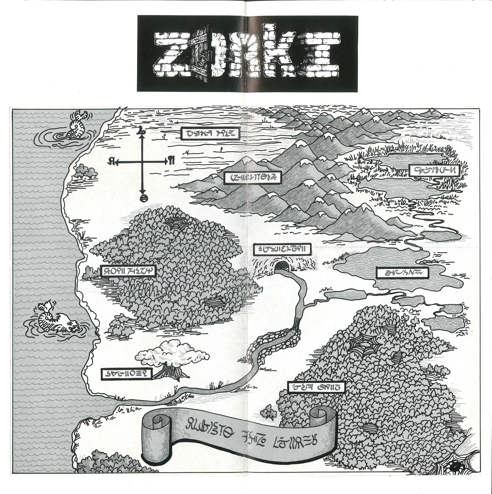 Atari ST Zork I - Great Underground Empire (The) : scans