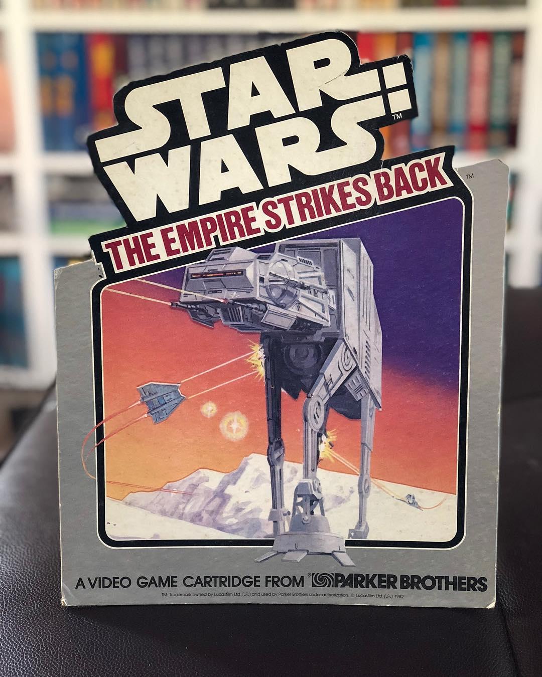 Atari 2600 VCS Star Wars - The Empire Strikes Back : scans