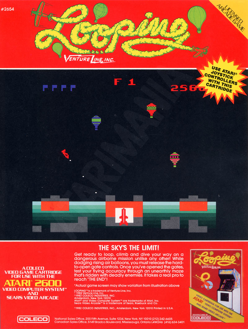 List of Atari 2600 VCS Posters