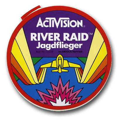 River raid stickers