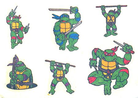 Atari ST Teenage Mutant Hero Turtles : scans, dump, download
