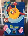 Ms. Pac-Man Atari Dealer Displays