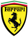 Ferrari Formula One Atari Stickers