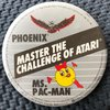 Phoenix / Ms. Pac-Man Button Pins / Badges / Medals
