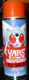 Yars' Revenge Fly Spray Other