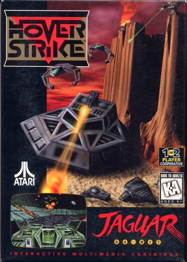 Atari Jaguar Hover Strike : scans, dump, download ...