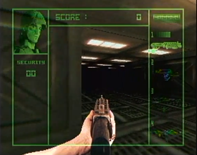 Alien Vs. Predator atari screenshot