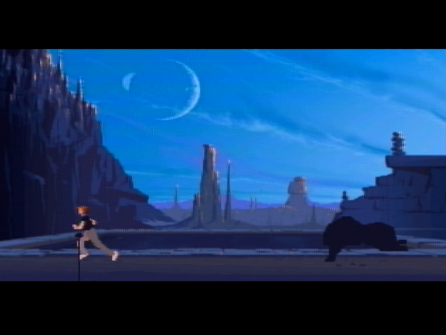 Another World atari screenshot