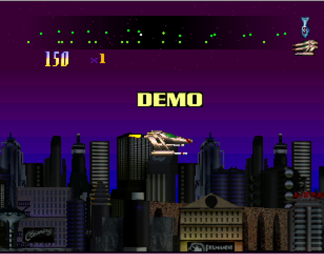 Defender 2000 atari screenshot
