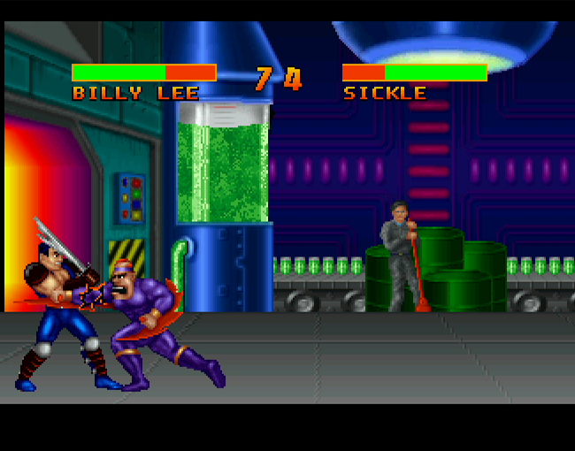 Double Dragon V - The Shadow Falls atari screenshot