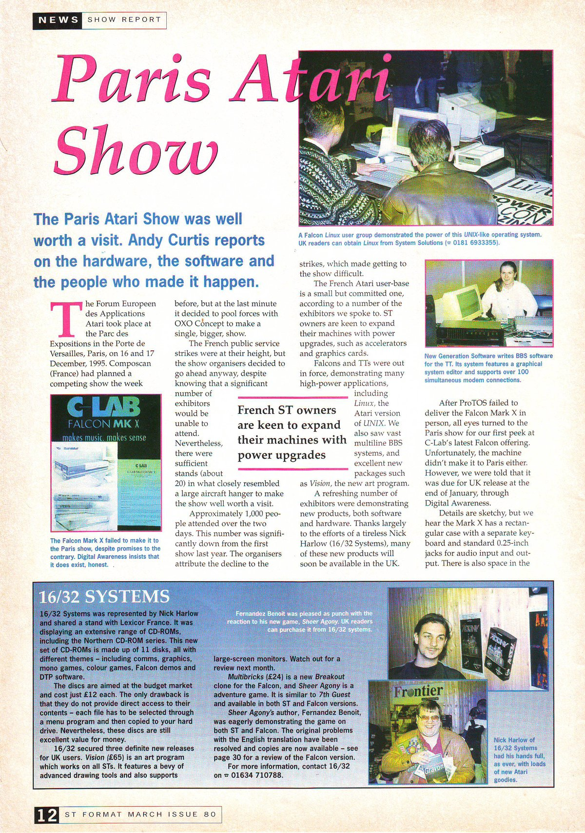 ST Format (Issue 80) - March - 1996: Atari magazine scans, pdf