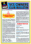 VCS Owner's Club Bulletin issue #25
