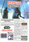 Parker Video Games Club Newsletter issue No. 2