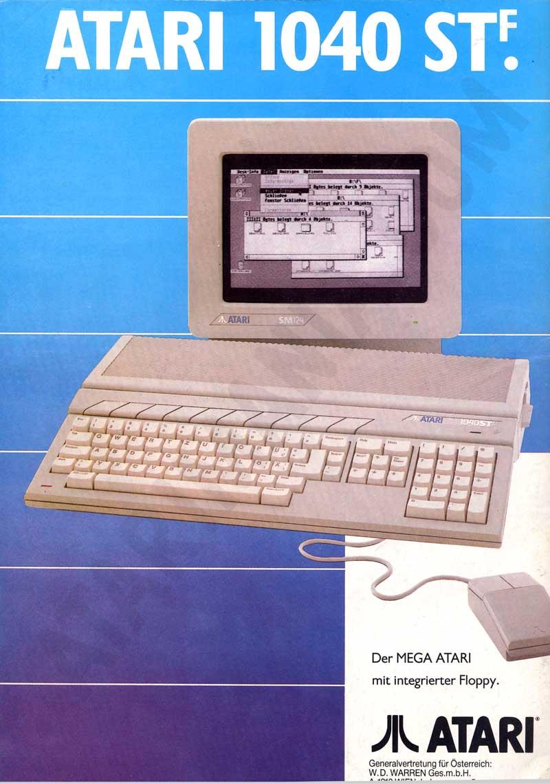 Streets Of Willow >> Atari ST Ads - Atari (Germany)- German - Page 1