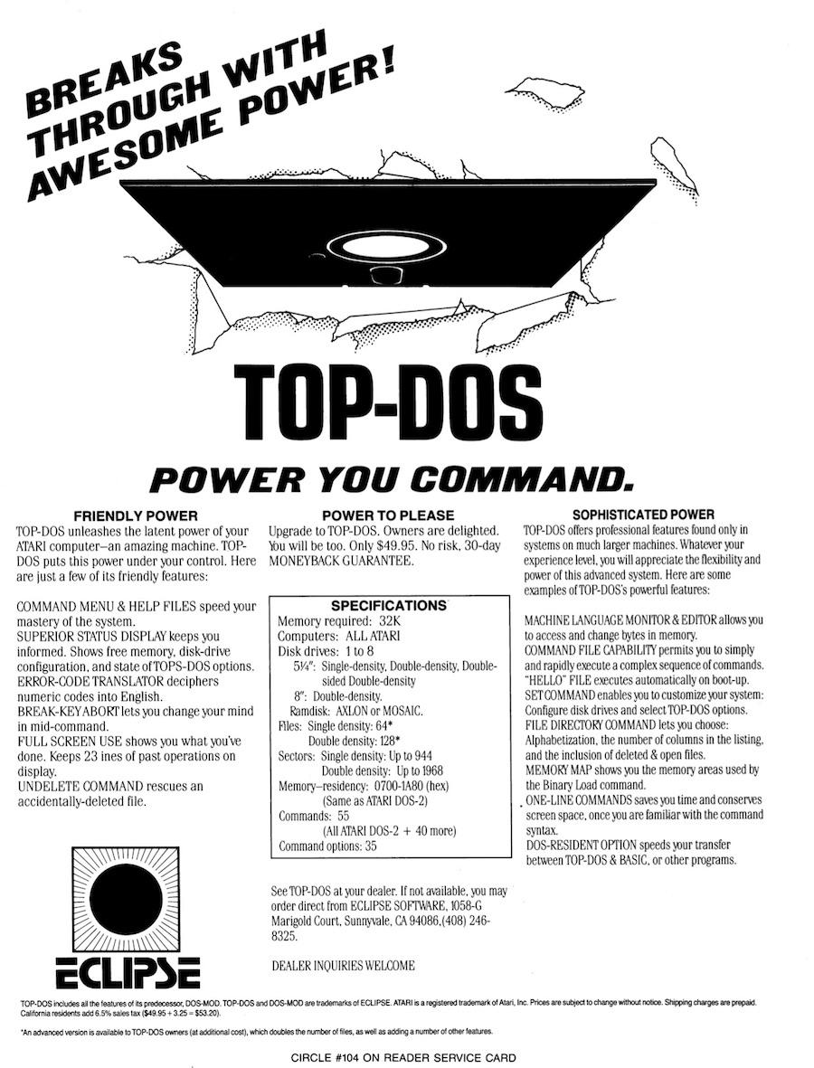 Atari 400 800 XL XE Ads - Page 9