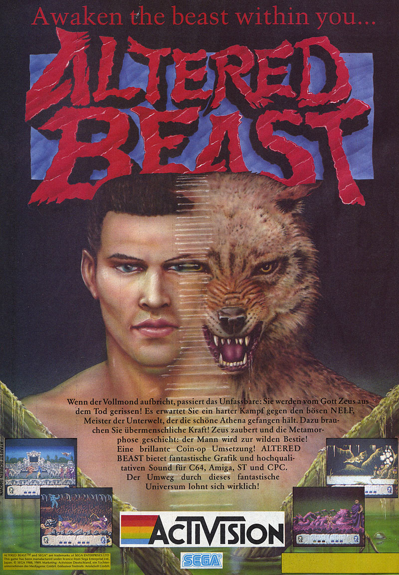Atari st altered beast scans dump download for Altered beast
