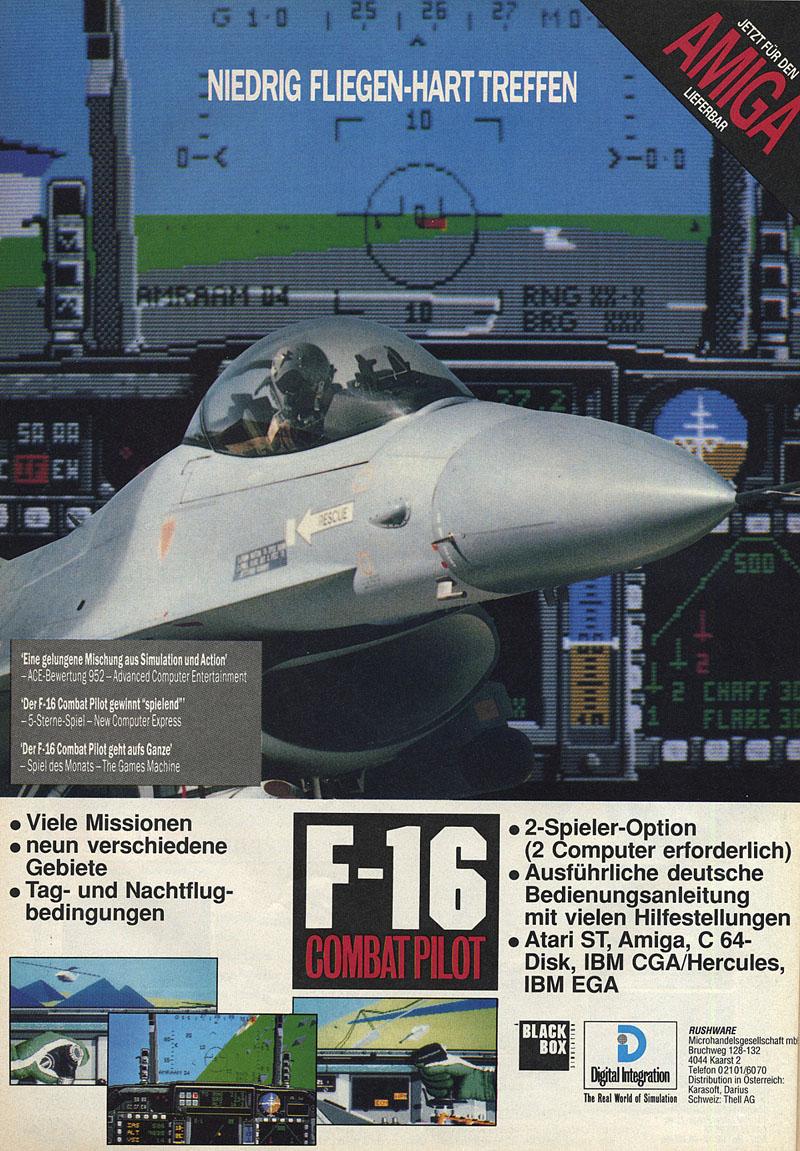 16 Combat Pilot [German]