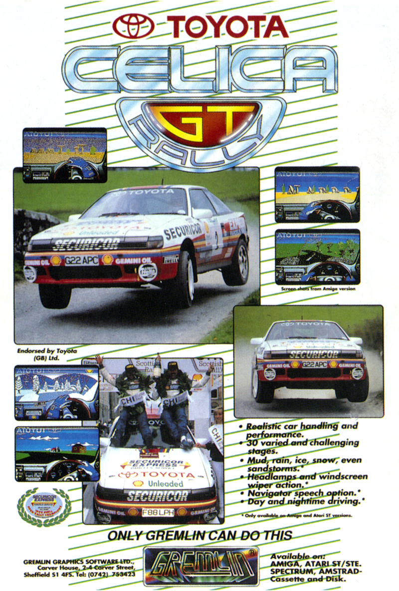 Celica GT Rally : scans,