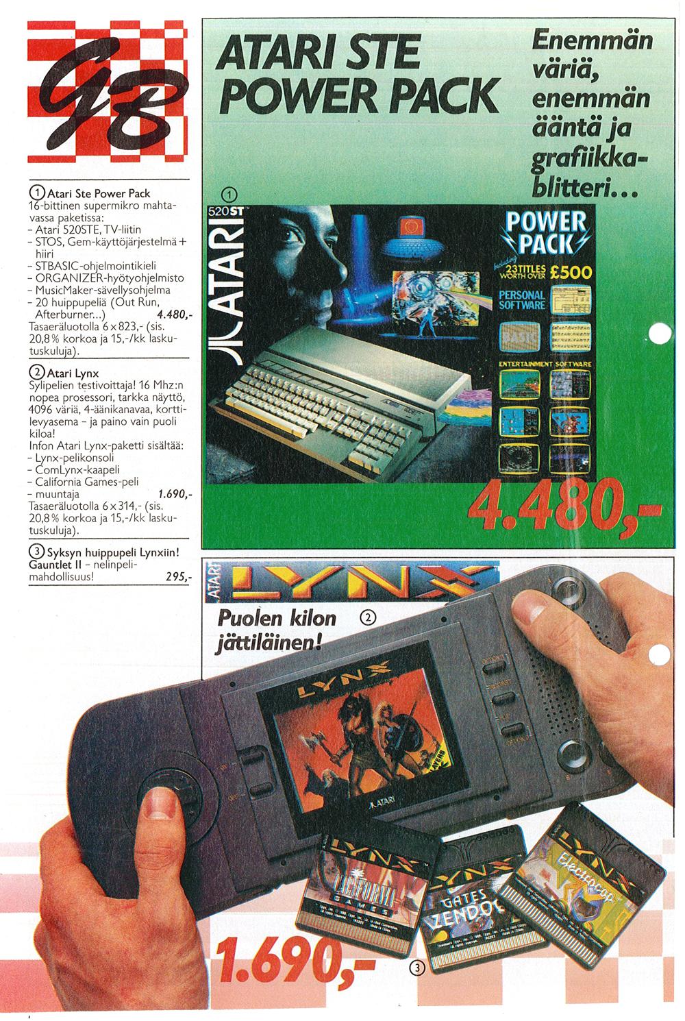 Atari St Atari 520stfm Power Pack Scans Dump Download Screenshots Ads Videos Catalog