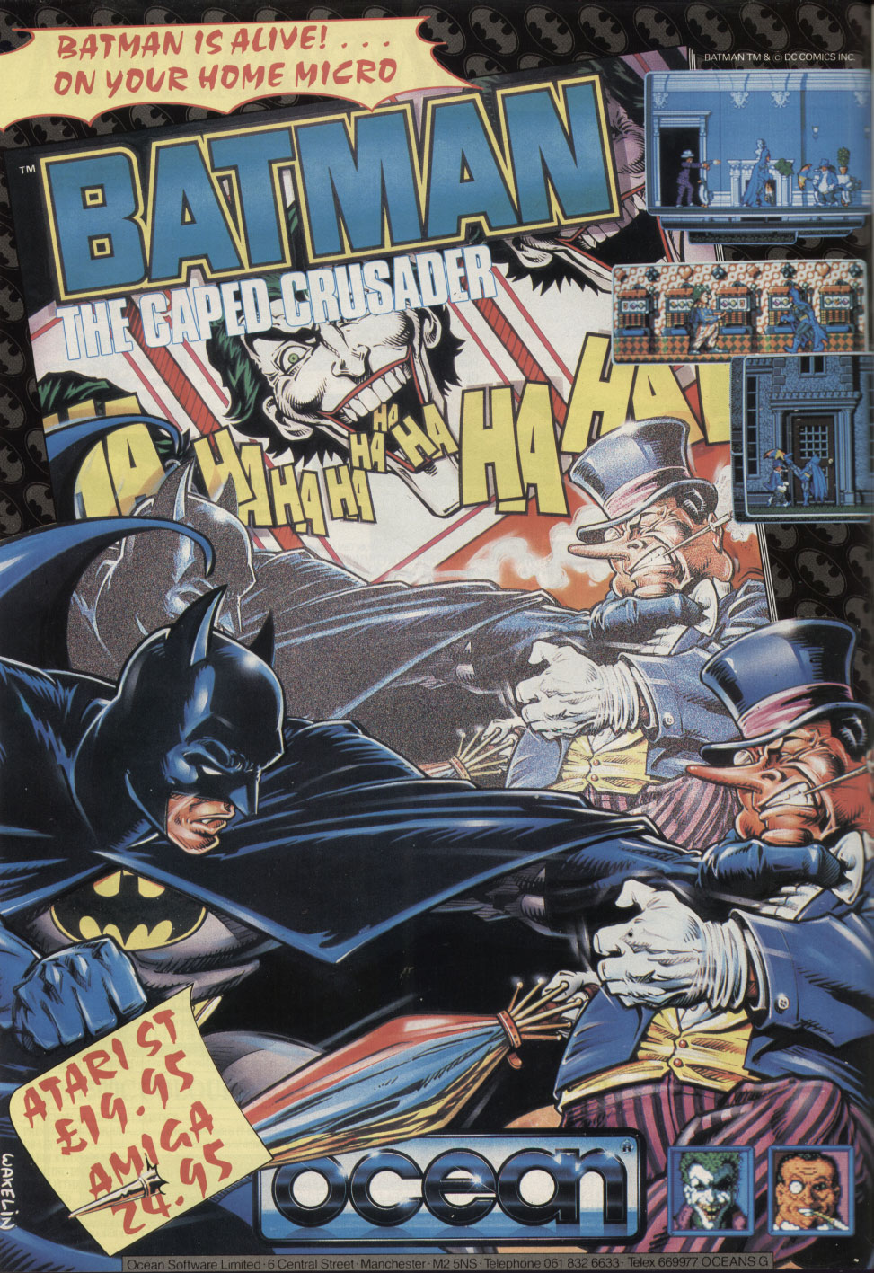 magazine review caped crusader You're harder to kill than a cockroach on steroids, complains the joker to batman after a brutal clash from which the caped crusader emerges miraculously.