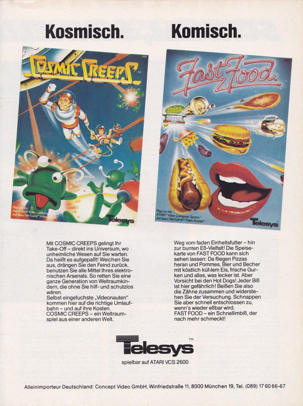 Atari 2600 VCS Ads Page 15