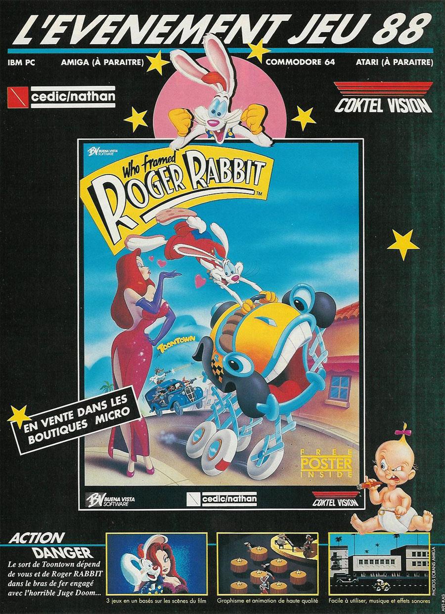 Atari ST Who Framed Roger Rabbit : scans, dump, download ...