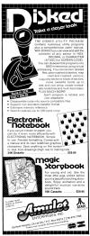 Electronic Notebook Atari ad