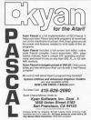 Kyan Pascal for the Atari!