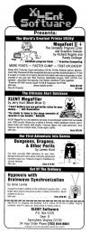 Dungeons, Dragons and Other Perils Atari ad