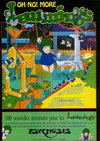Oh No! More Lemmings Atari ad
