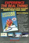 Winter Olympiad '88 Atari ad