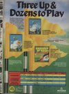 Leader Board Pro Golf Simulator - Tournament Disk I Atari ad