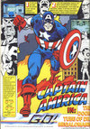 Captain America in The Doom Tube of Dr Megalomann Atari ad