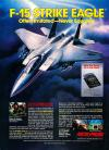 F-15 Strike Eagle Atari ad