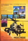 F-19 Stealth Fighter Atari ad