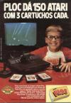 Jungle Hunt (Caçada na Selva) Atari ad