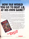 Dallas Quest (The) Atari ad