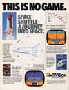 Space Shuttle - A Journey into Space Atari ad