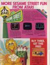 Big Bird's Egg Catch Atari ad