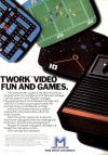 Super Challenge Football Atari ad