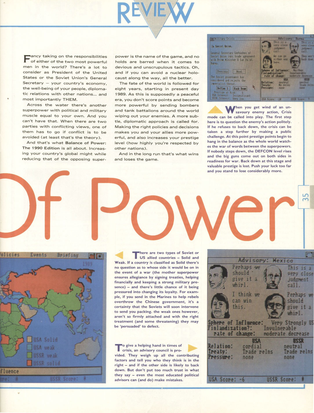 an analysis of the balance of power in 1990 Overview « » context  based on a poverty line of $190 per day at purchasing power  a new analysis of african economies shows the region's growth is.