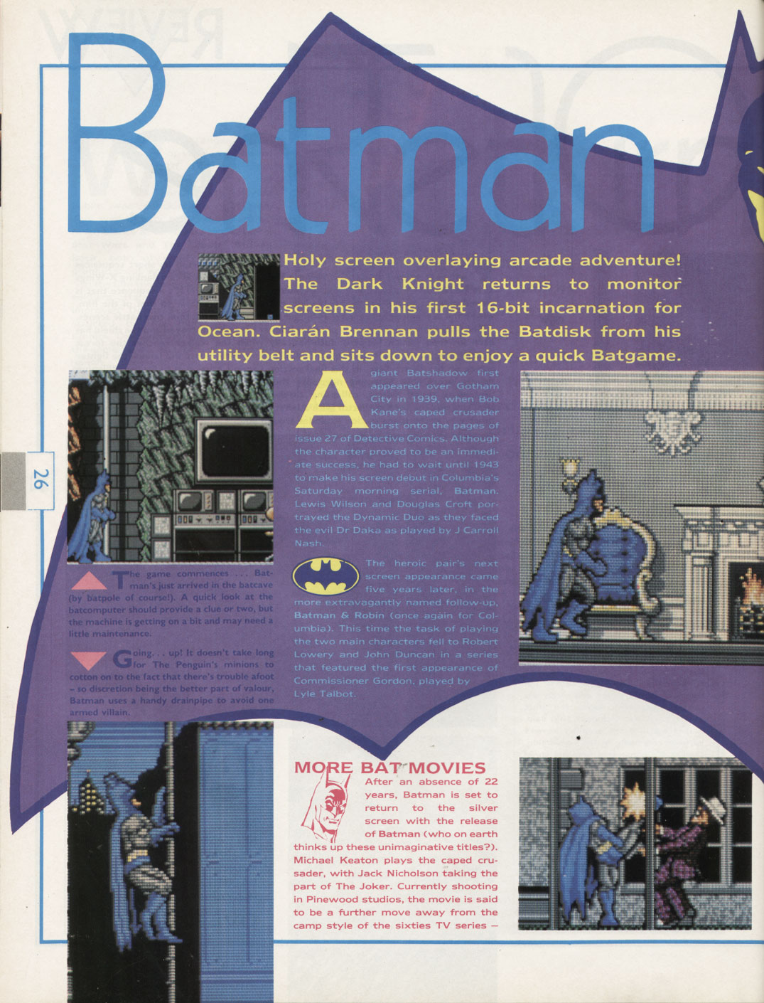 magazine review caped crusader