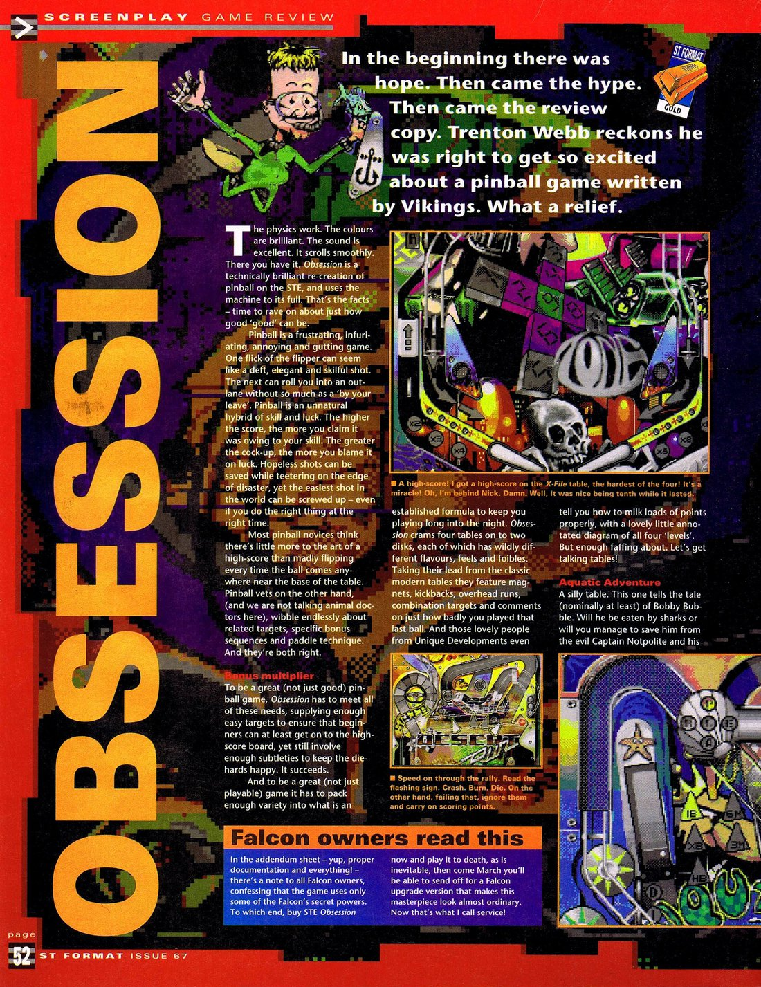 Atari ST Obsession : scans, dump, download, screenshots, ads