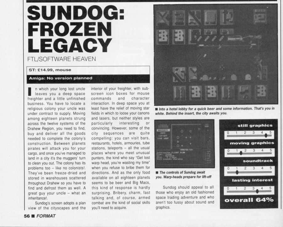 Atari St Sundog Frozen Legacy Scans Dump Download