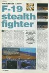 F-19 Stealth Fighter Atari review