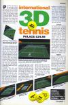 International 3-D Tennis Atari review