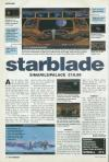 Starblade Atari review