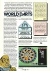 World Darts Atari review