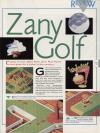 Zany Golf Atari review