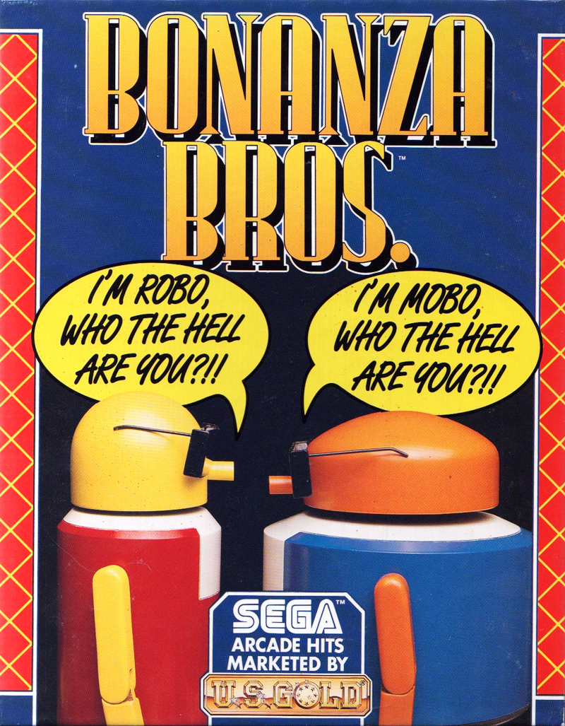 Atari ST Bonanza Bros Scans Dump Download